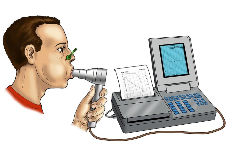 Esame diagnostico spirometria