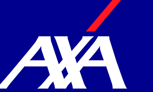 Logo AXA CARING - convenzionato con i centri Fisiomedical