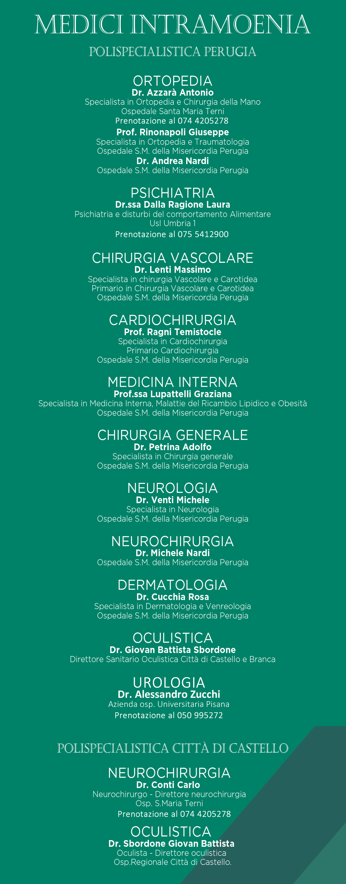 Medici intramoenia Fisiomedical