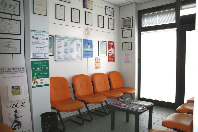 Sala d'attesa centro Fisiomedical Umbertide