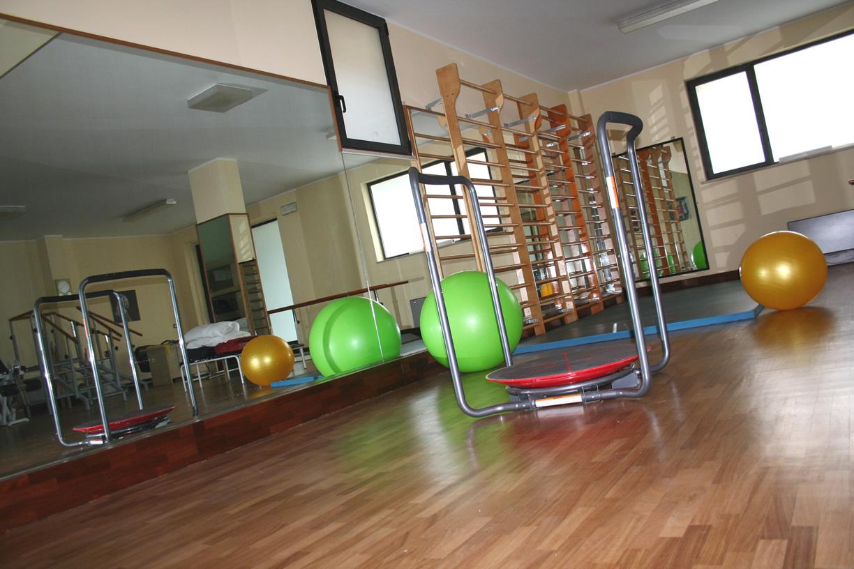 Sala dedicata alla riabilitazione e rieducazione motoria Umbertide