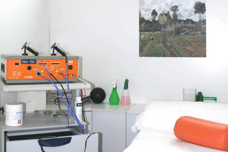 Sala dedicata alla Tecar terapia ad Umbertide