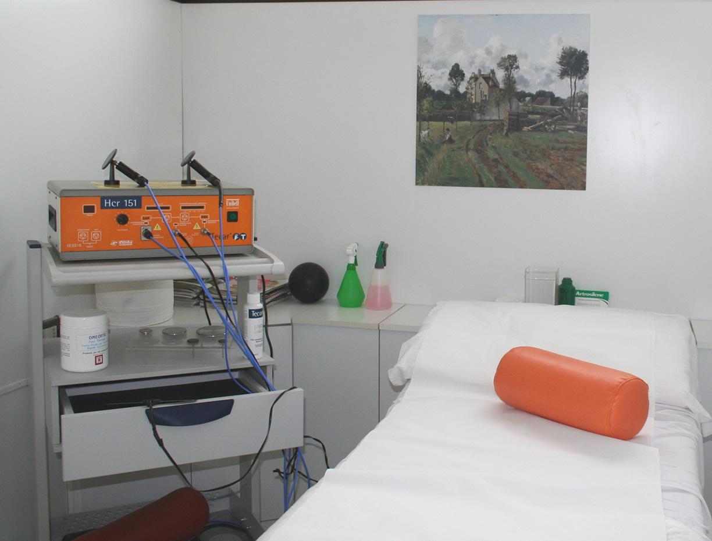 Sala dedicata alla tecarterapia