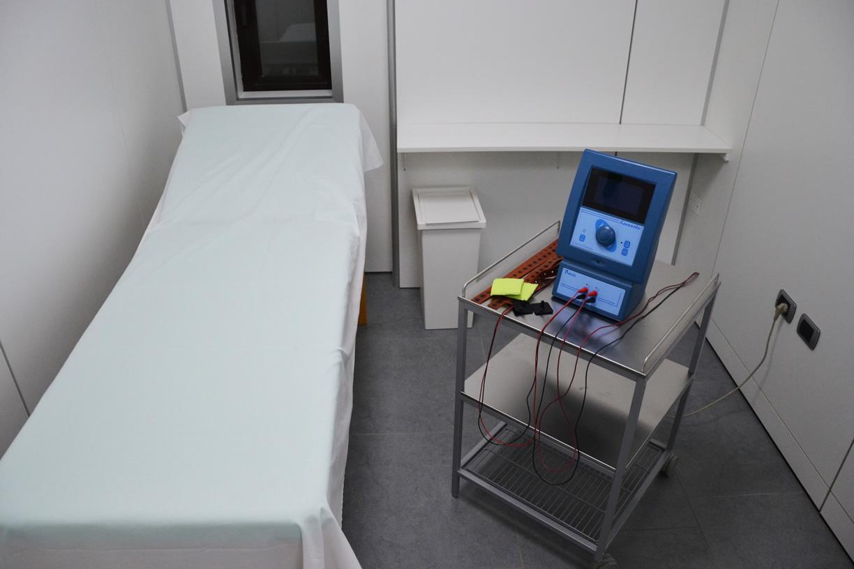 Sala trattamenti laser Perugia