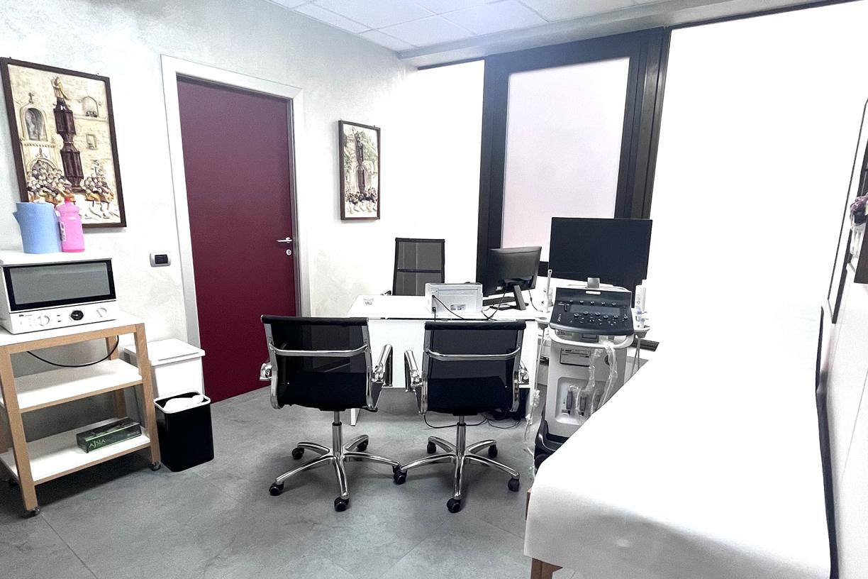 Sala visite e trattamenti Fisiomedical