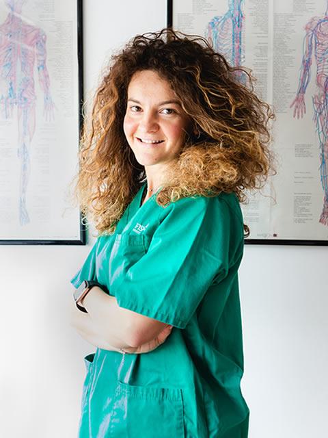 Fisioterapista Eleonora Burzigotti