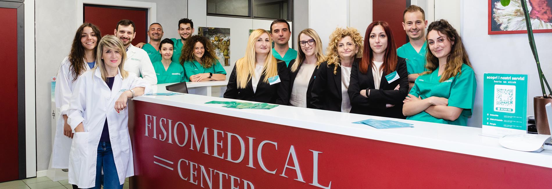 Staff riabilitativo e segreteria Fisiomedical