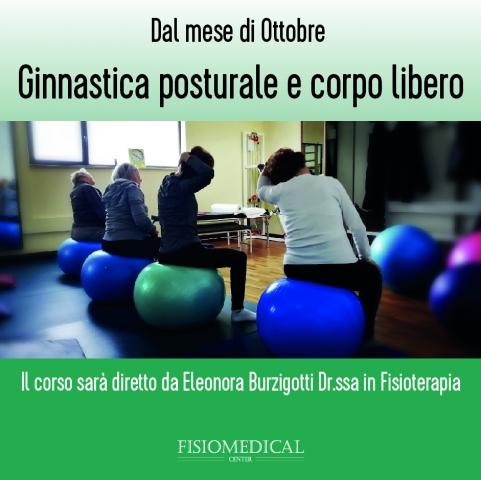 Corsi ginnastica posturale e corpo libero